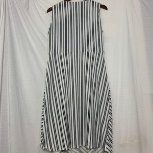 Banana Republic Dresses - *NEW* BANANA REPUBLIC Stripe Asymmetrical Dress